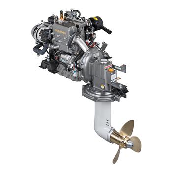 3YM30AE + SD 29 Hp 3200 Devir Dizel Sail Drive Kuyruklu Deniz Motoru
