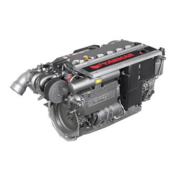 6LY400 400hp 3300 Devir Hidrolik Şanzımanlı Common Rail Dizel Deniz Motoru