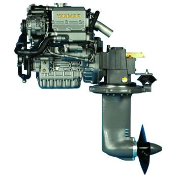 3YM20C-SD25 21hp 3600 Devir Sail Drive Kuyruklu Dizel Deniz Motoru