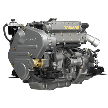 4JH5E 45hp 3000 Devir Dizel Deniz Motoru