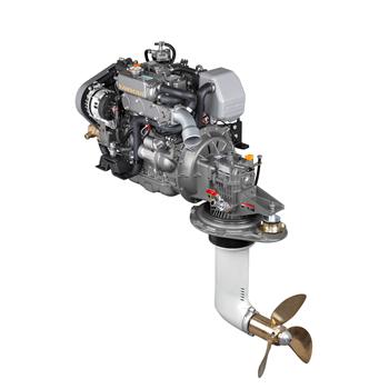 3JH5CE + SD60 39 Hp 3000 Devir Sail Drive Kuyruklu Dizel Deniz Motoru