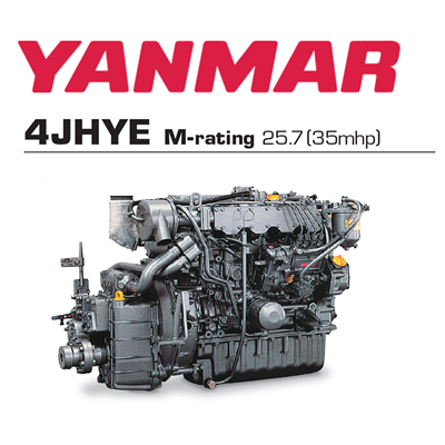 Yanmar 4JHYE 35hp Balıkçı Dizel Deniz Motoru